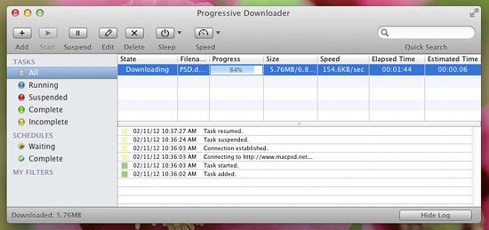 Free Download Manager For Mac: Progressive Downloader