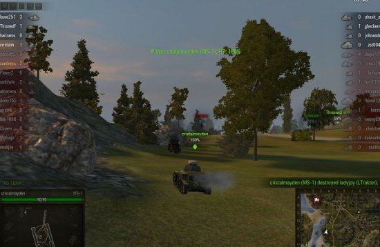 worldoftanks gameplay
