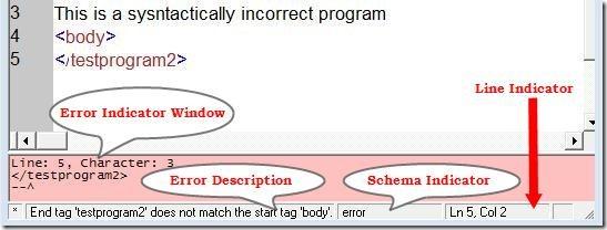xray xml editor errors desc
