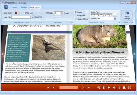 3DPageFlip Lite editing book