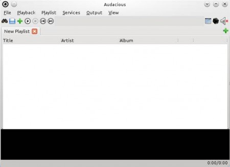 Aduacious free music player default window