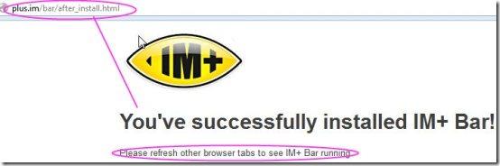 IM+ Bar IM Client Add-on