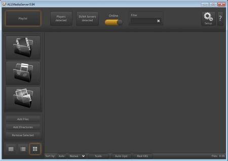 AllMediaServer free DLNA media server default image