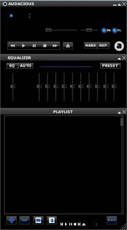 Audacious Winamp interface