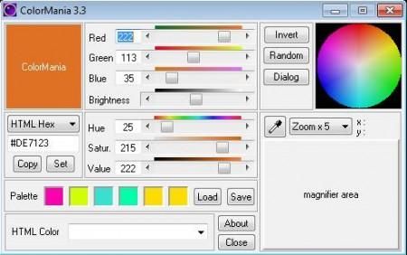 ColorMania free color picker software