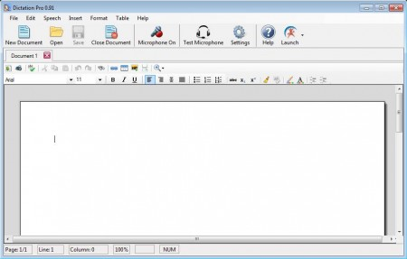 Dictation Pro speech recognition software