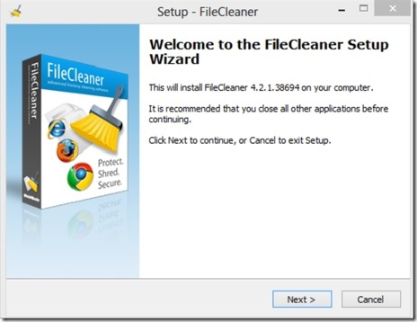 File Cleaner 03 delete temporary files
