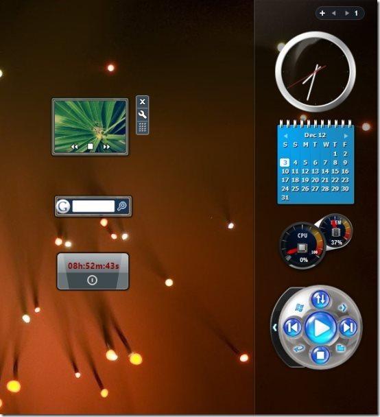 Gadgets In Windows 8
