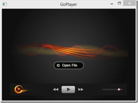 GoPlayer 001 free media player