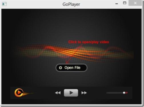 GoPlayer 003 free media player