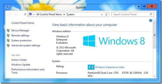 How To Enable Transparency In Windows 8