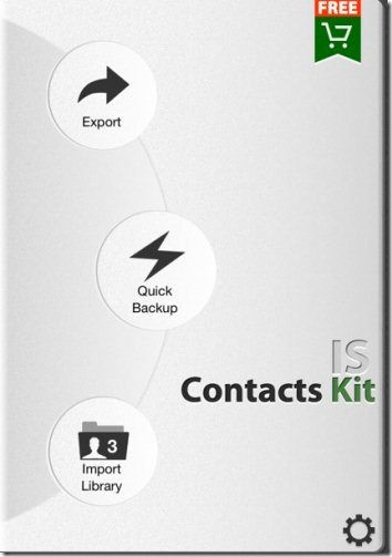 IS Contacts Kit Options