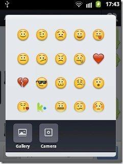 Kik Messenger emoticons