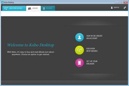 Kobo Desktop free ebook management software