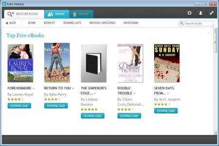 Kobo Desktop free ebooks