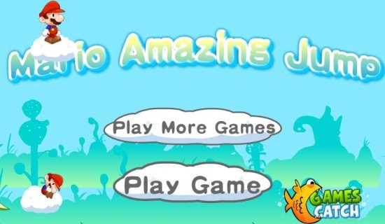 Mario jumping game
