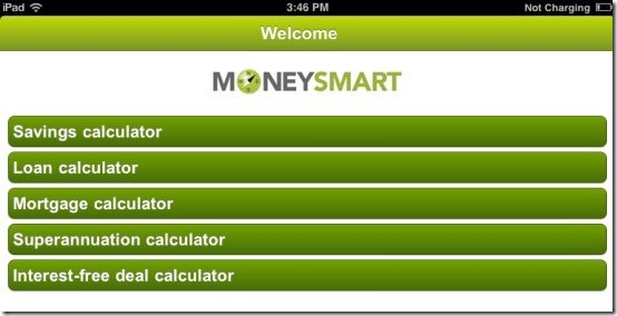 MoneySmart Financial calculator
