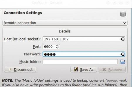 Music Player Daemon client setup