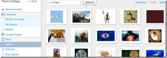 Muzy Search