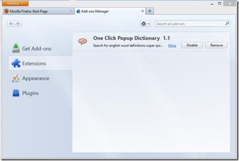 One Click Pop Dictionary 02