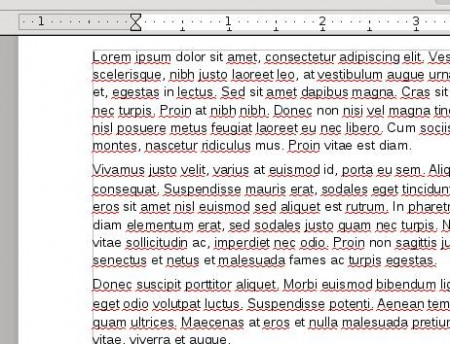 PDF To Word after conversion
