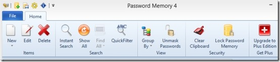 Password Memory 04 free password manager