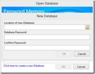 Password Memory 05 free password manager