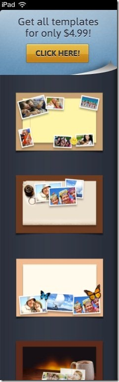 Photo Email Templates