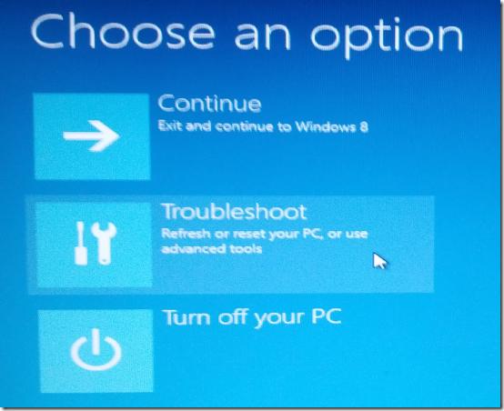 Reset Password In Windows 8