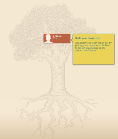 Rootsy free online family tree maker default image