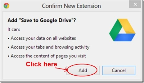 Save to google drive 07 save web pages