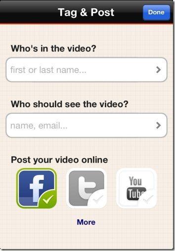 Socialcam Share