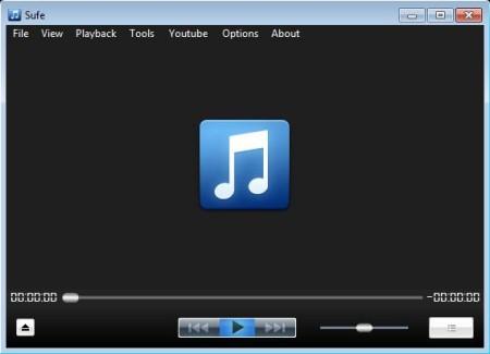 Sufe free media player default window