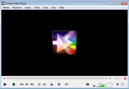 Torrent Video Player default window