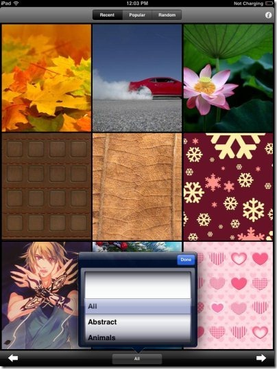 Wallpapers HD Categories