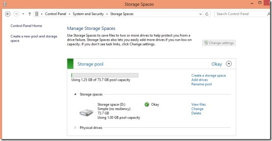 What Is Storage Spaces In Windows 8