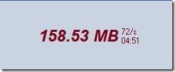 broadband usage meter interface