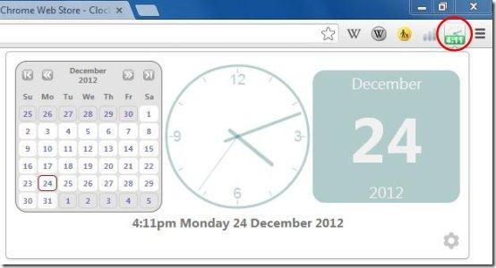 clock for google chrome 02
