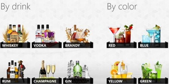 cocktail recipe app