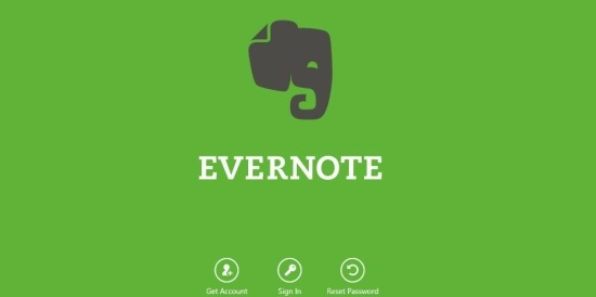 evernote app for windows 8