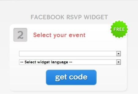 evuli rsvp widget