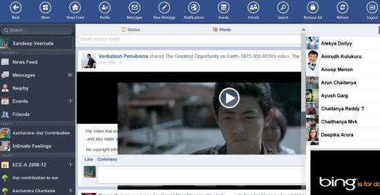 facebook app for windows 8 more