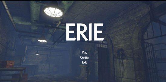horror adventure game erie
