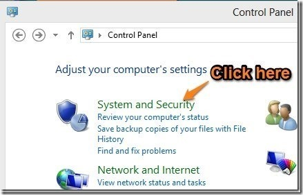 how-to-open-system-and-security-in-windows-8
