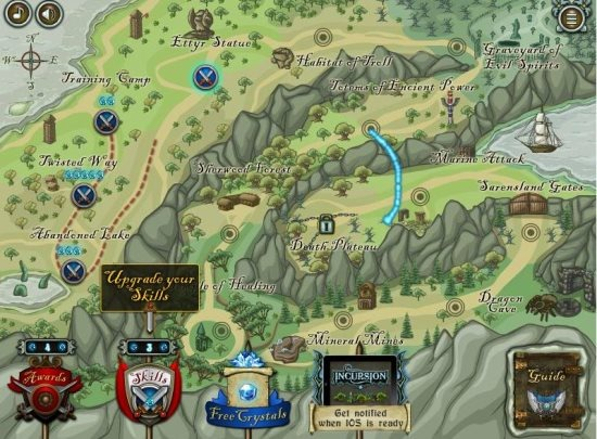 incursion free strategy game