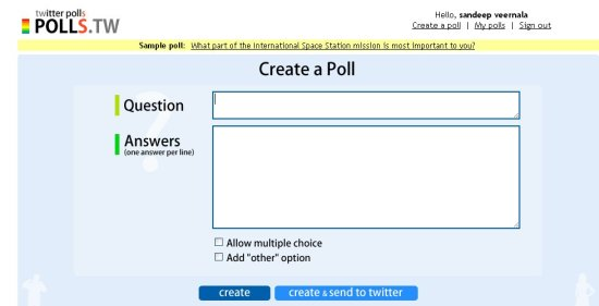 pollstw interface