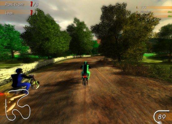 racing games bike