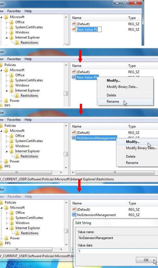 rename and modify key