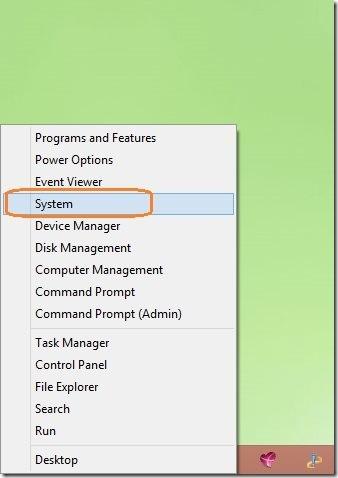 restore point in Windows 8