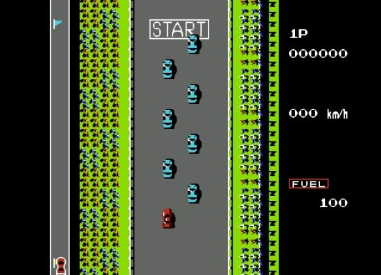 road fighter gameplay